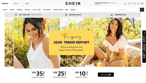 """快时尚跨境电商品牌""""SHEIN""""拟赴美上市,主打欧美、中东市场"""