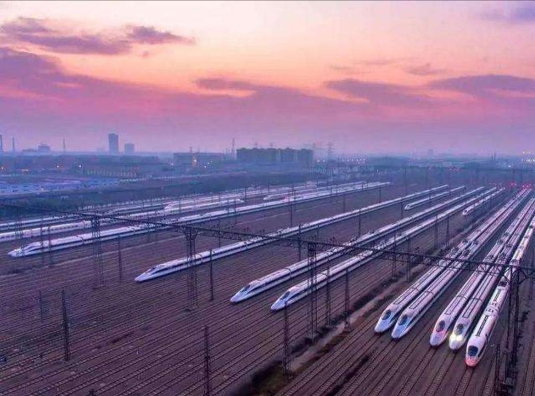 中国日益强大,兰州至北京,高铁运行时间缩短