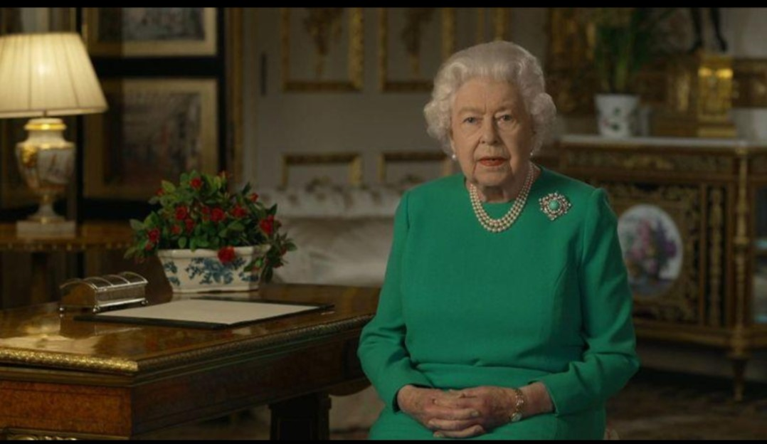 高龄英国女王,第五次发表特别演讲