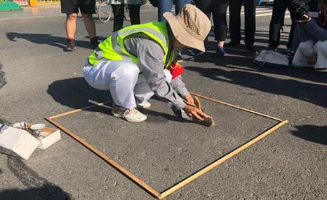 西安要求環衛工人1平米不能夠超過5g的灰塵