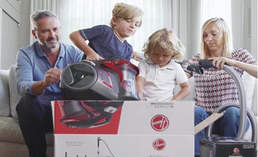 Candy旗下品牌Hoover发起清洁活动