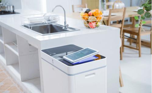 邦必拓廚余垃圾處理器為兒童安全上鎖