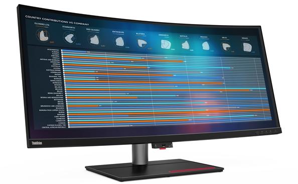 联想发布5K专业显示器ThinkVision P40w