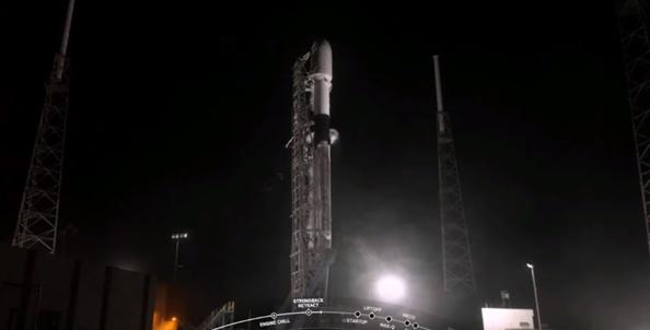 SpaceX將第21批次60顆星鏈衛星送入低地球軌道