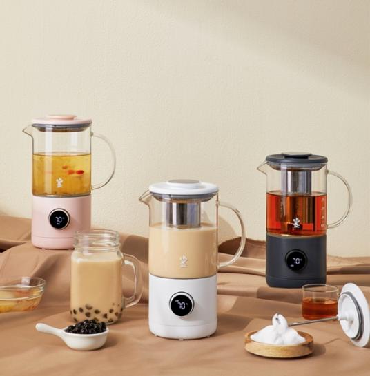 鸣盏新品多功能奶茶机,实现奶茶自由