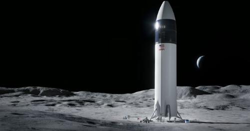 NASA宣布将选择SpaceX系统进行登月