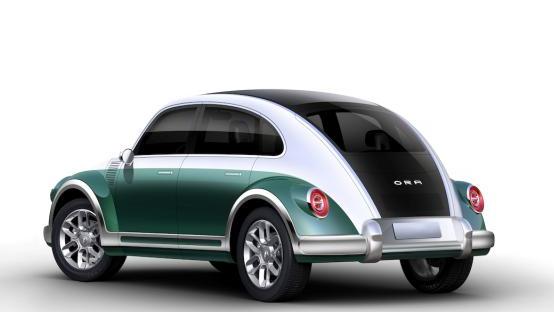 长城欧拉发布一组全新复古车型官图