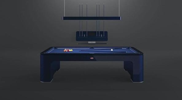 布加迪周边推出全碳纤维台球桌