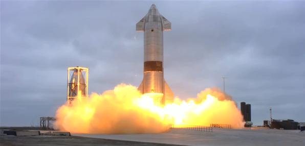 SpaceX SN15成(cheng)功(gong)完成(cheng)高(gao)空飛(fei)行測(ce)試