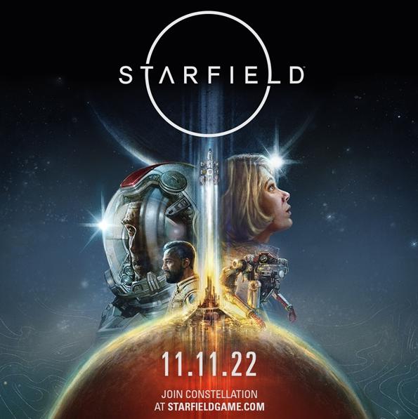 Bethesda《星空》定于2022年双11登陆PC及Xbox