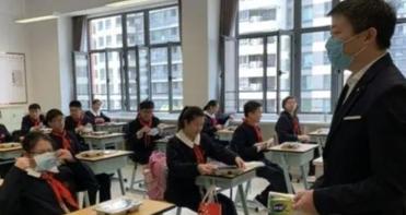 上海初高三迎來開學日