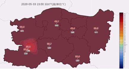 河南郑州高温预警