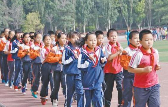 復學初期不提倡集體跑步