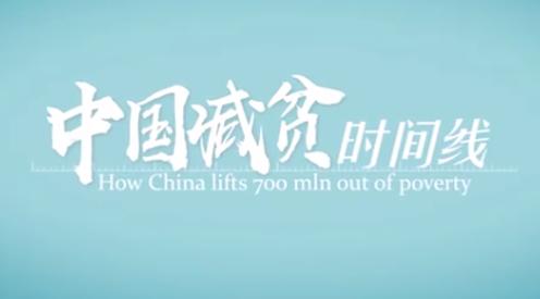 中國減貧時間線