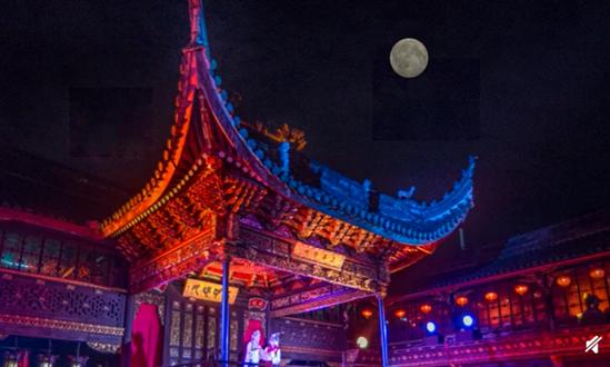 今年端午节名场面:18座历史名楼齐亮灯!