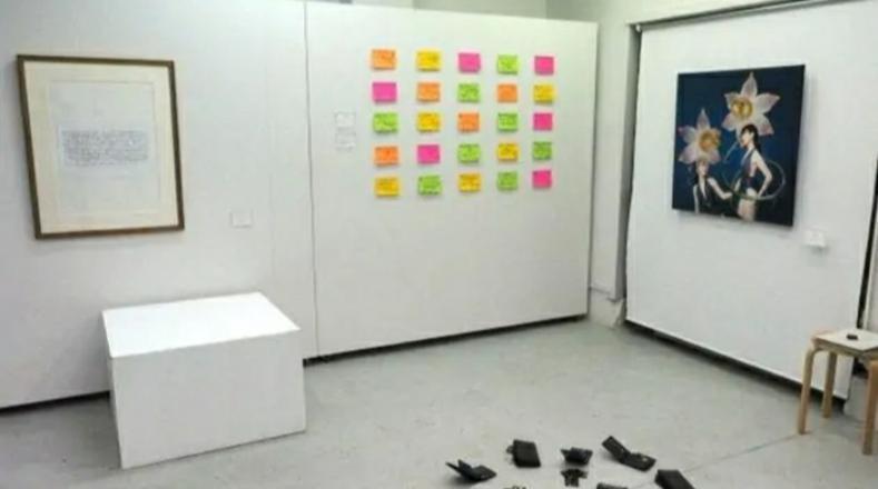 一场特殊的艺术展,开展30分钟,展览作品都不见了