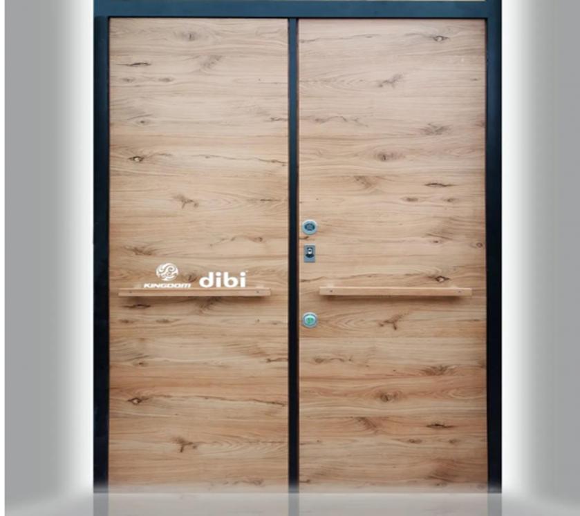 意大利DI.BI.进口极简装甲入户门项目案例