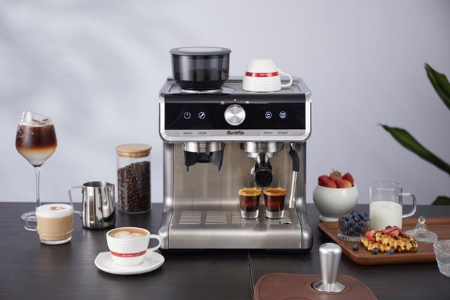 传递爱意,百胜图Barsetto研磨半自动咖啡机