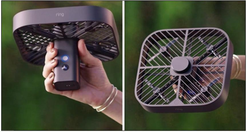 亞馬遜發布會飛的家庭攝像頭