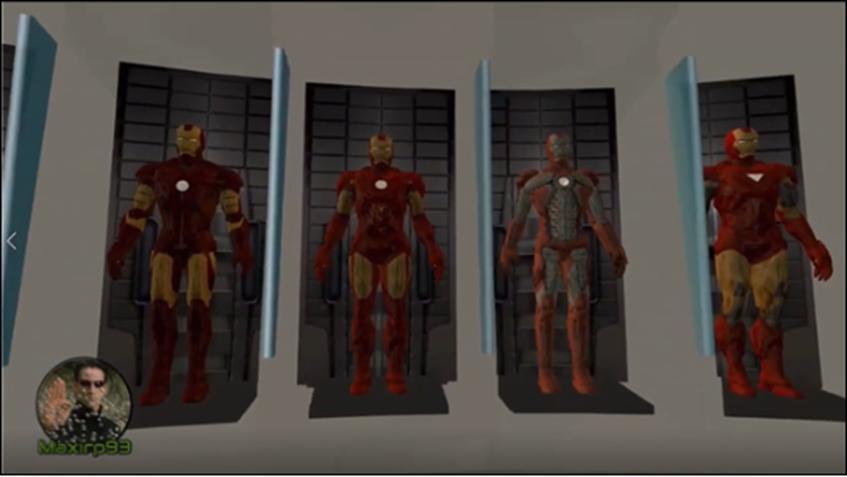 钢铁侠MOD:换多款战衣可玩性大增