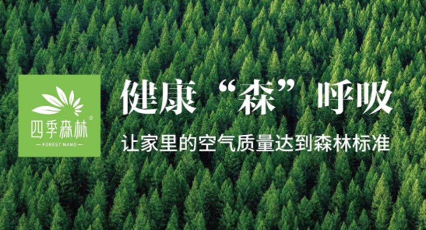 四季森林,让森林空气四季在家
