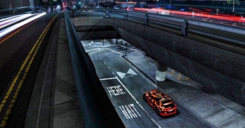 奥迪全新大灯秒杀市面上99%车型!