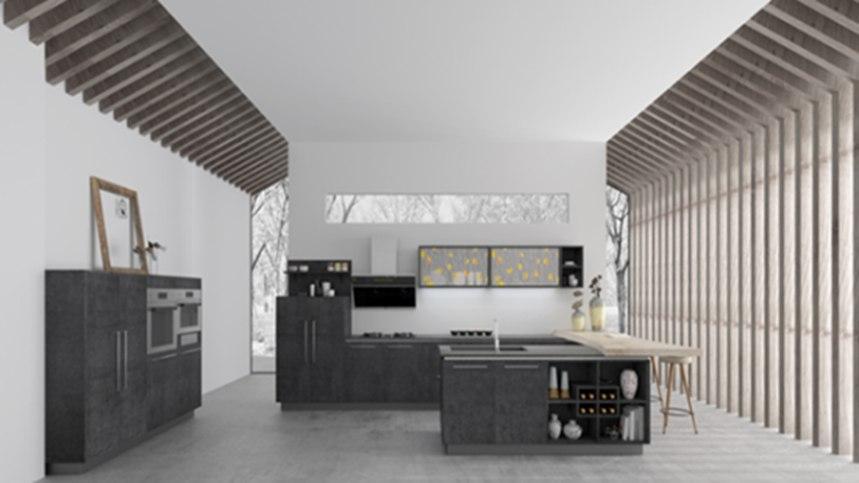 柏厨家居塑造厨房里的凉秋暖意