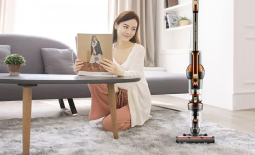 莱克立式吸尘器M12MAX让家务更轻松