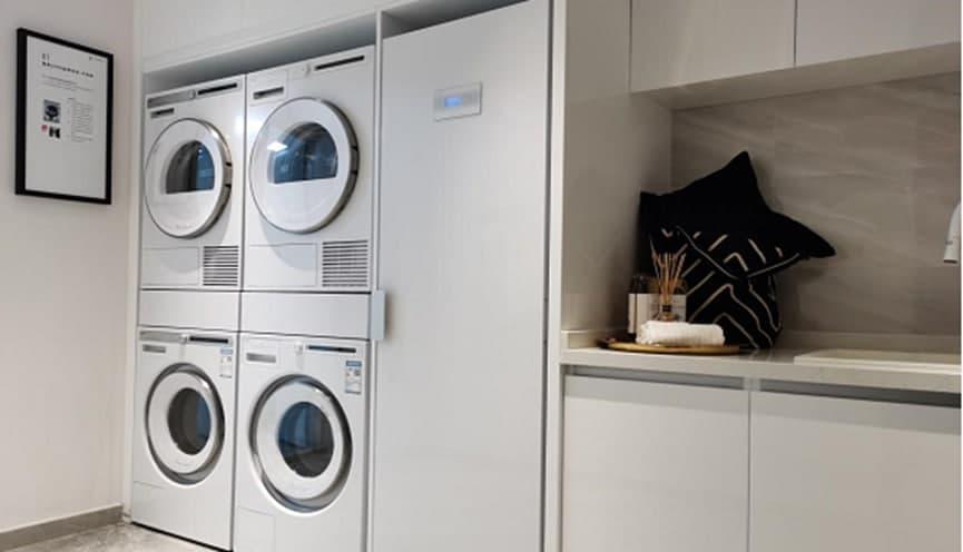 ASKO携手紫御香山打造豪宅专属洗衣房