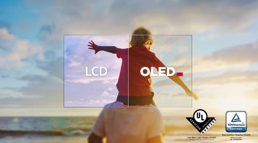 高端护眼电视OLED自发光,给家人一个清透的视界