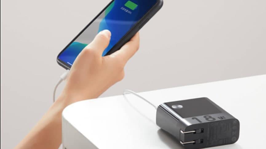 紫米发布双模充电器充电宝:双口2合1