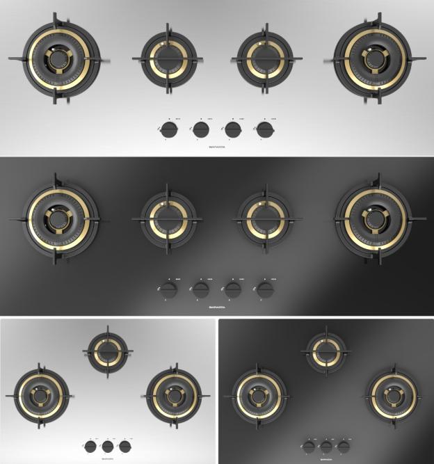帕拉扎全新Mood系列燃气灶,专为烹饪定制