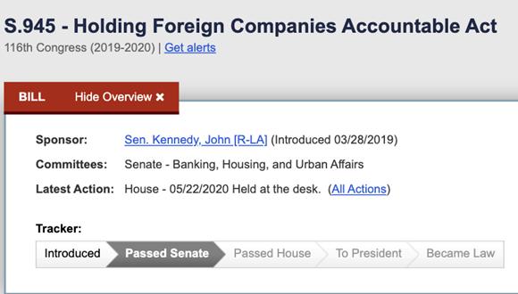 特朗普一簽字 美國新法案就生效! 盯緊中國企業
