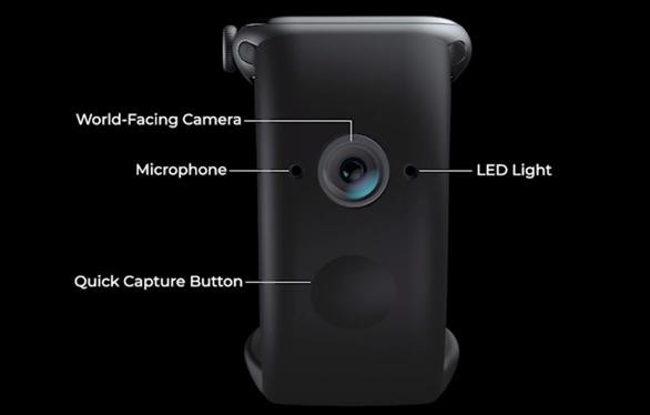 """Wristcam发布可摄像表带:让Apple Watch变身""""小天才"""""""