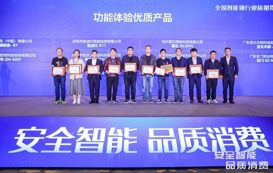 螢石視頻鎖DL30VS喜獲兩項大獎
