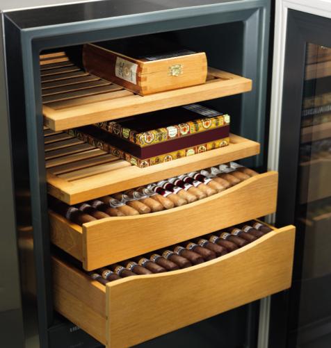 利勃海爾雪茄柜造就原產地氣候完美儲藏