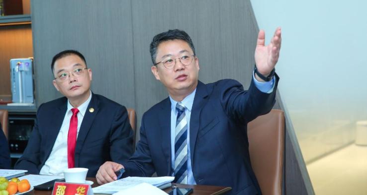 張志剛、姜明蒞臨順聯集團指導工作