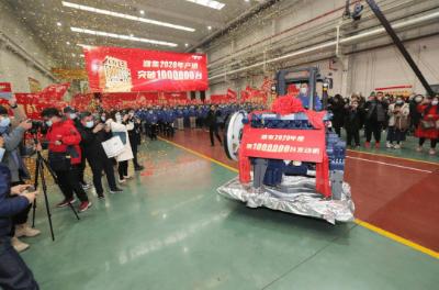 濰柴2020年柴油機產銷量破100萬臺