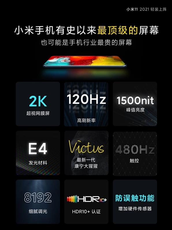 小米11 Pro高清渲染圖曝光