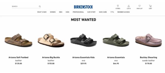 凉鞋品牌 Birkenstock 或被私募基金收购