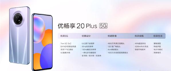中國聯通發布優暢享20系列:1699元起