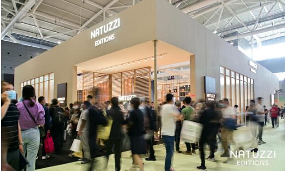纳图兹意迪森精彩亮相深圳国际家具展