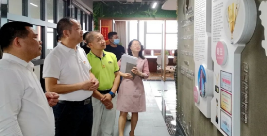 KDI設計院受深圳市寶安區領導參觀視察