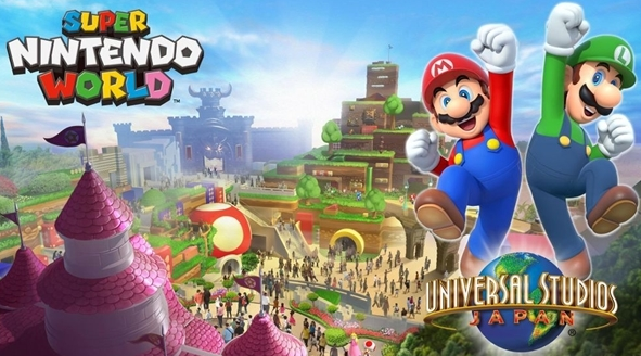 超級任天堂世界主題樂園正式開放
