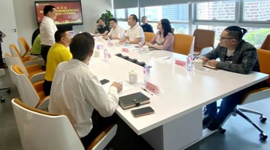 KDI设计院受深圳市宝安区领导参观视察