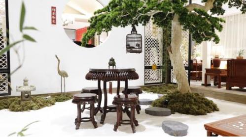 祥利红木在深圳家具展人气口碑双丰收