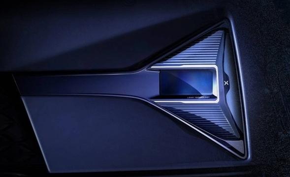 小鹏汽车发布全新车型激光雷达官图