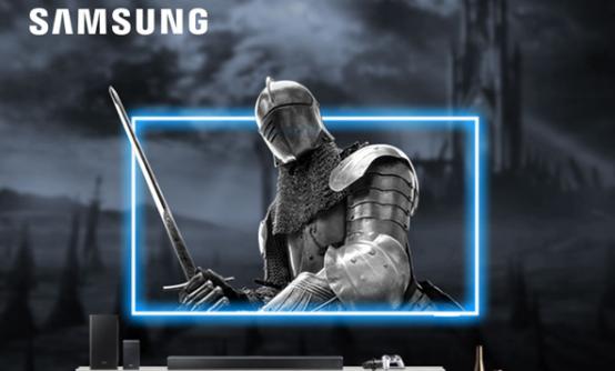 三星发布QX2超薄全面屏游戏电视
