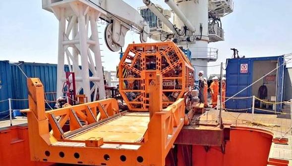 """湖南科大""""海牛Ⅱ號""""刷新世界深海海底鉆機鉆探深度"""