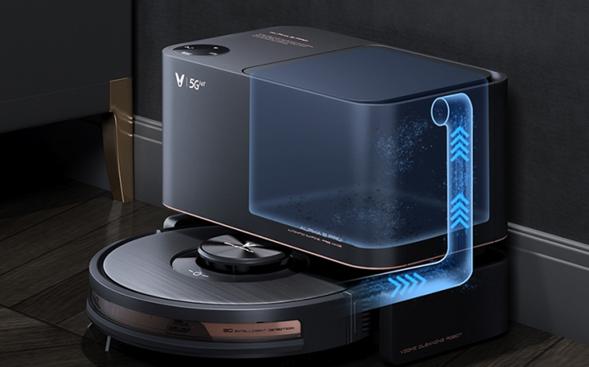 云米开售自集尘扫拖机器人——Alpha 2 Pro